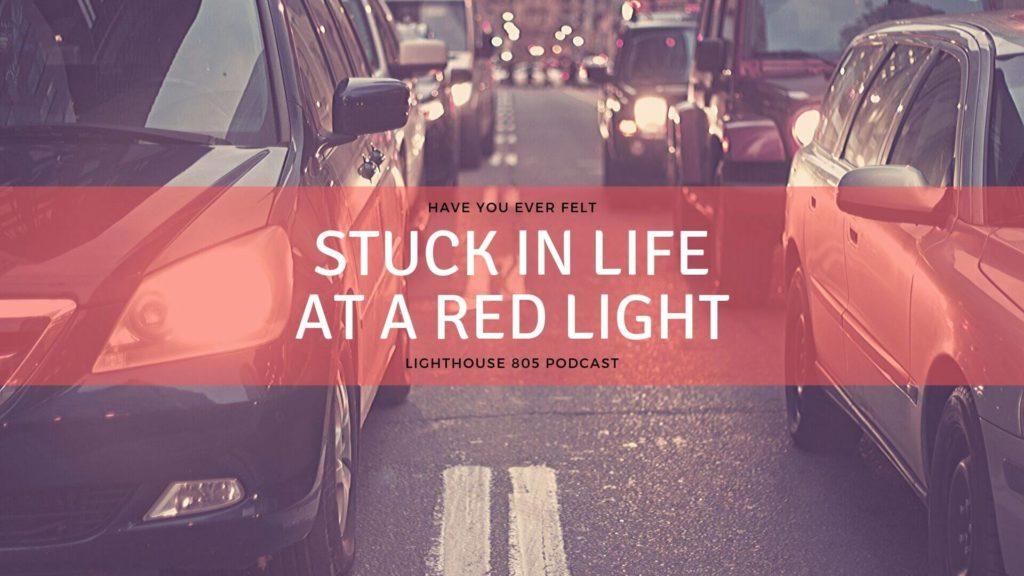 cars in ventura stuck at red light