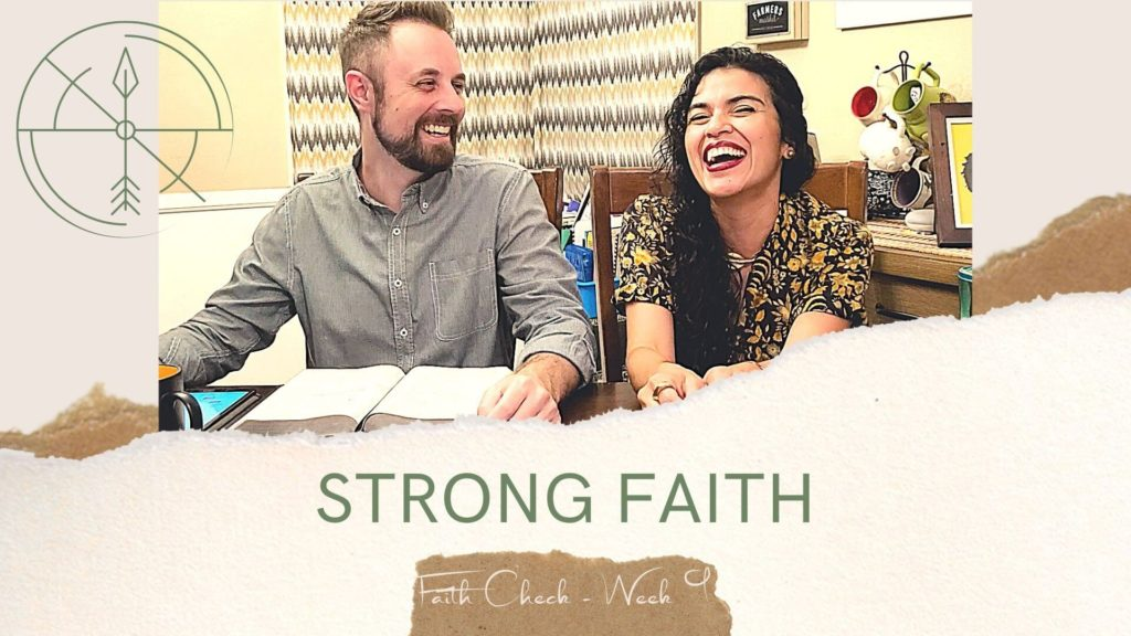 Church in Ventura sermon on having strong Faith in pastors kitchen